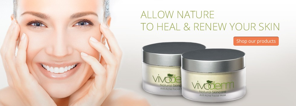 Vivoderm Natural Skincare Natural Herbal Facial Skin Care For Anti Aging Acne And Body