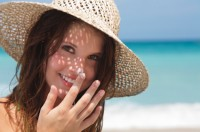 Zinc cream prevents sun damage